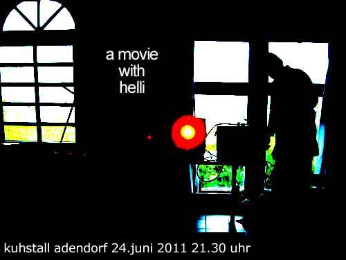 Film mit Helli / Terminänderung!!!