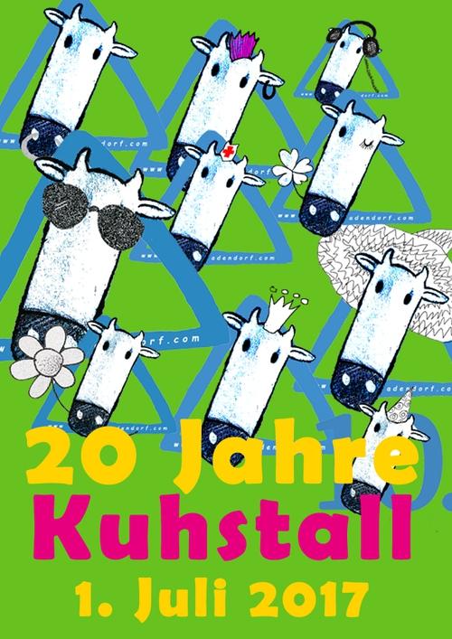 1.7.2017 - 20 Jahre Kuhstall.
