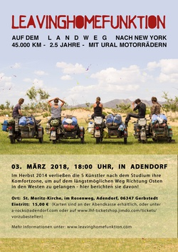 Von Halle/Saale nach New York Vortrag in der FF zu Adendorf