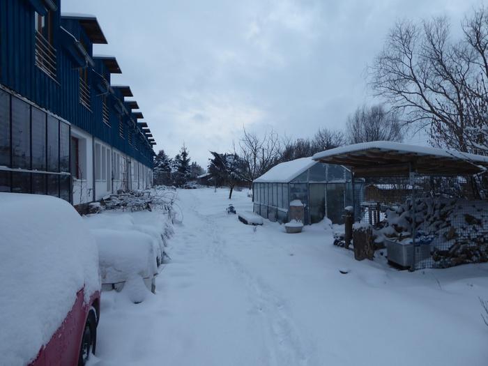 Alles versinkt im Schnee