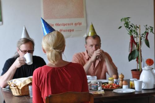 Geburtstagsparty Dr. B